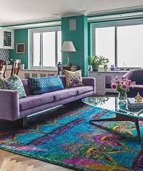 Living Room With Purple Sofa Living Room Colorful Living Rooms Purple Sofa Room Ideas Decor
