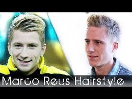 Marco Reus Hairstyle Soccer Player Haircut Marco Reus Hair Inspired Bleaching