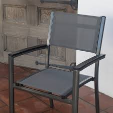 Sling Stackable Patio Chairs by Belham Living Whitney Sling Chair And Stone Table Patio Bistro Set