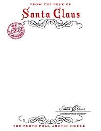 free printable writing paper to santa santa letterhead template word daway dabrowa co