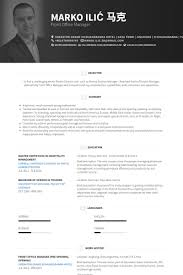 Hotel Front Desk Resume Sample by Office Manager Resume Samples Visualcv Resume Samples Database