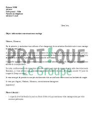 lettre pour mariage lettre à l employeur informations concernant mon mariage