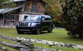 2017 nissan armada car and driver 2018 nissan armada pictures photo gallery car and driver