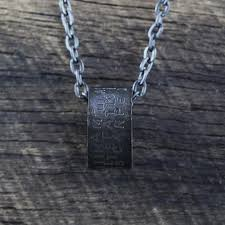 Custom Necklace Pendants Rustic Black Mens Necklaces Carpe Diem Pendants And