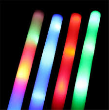 light sticks led foam light stick multi color sticks concerts led