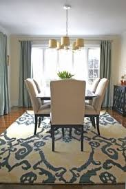 Guide To Choosing A Rug Size Room Decorating And House - Dining room rug ideas