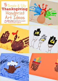 5 simple and silly thanksgiving handprint ideas 5 minutes