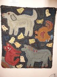 Primitive Hooked Rugs 5593 Best Hooked Rugs Images On Pinterest Rug Hooking Primitive
