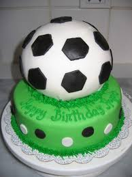soccer cakes sports themed cakes bonne fête baking