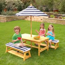 Childs Patio Set by Kids Outdoor Furniture Kidkraft