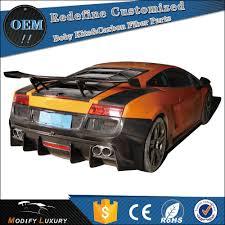 Lamborghini Gallardo Body Kit - carbon fiber d style body kit rear bumper for lamborghini gallardo