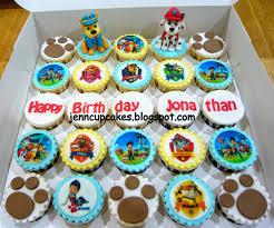 jenn cupcakes u0026 muffins paw patrol cupcakes