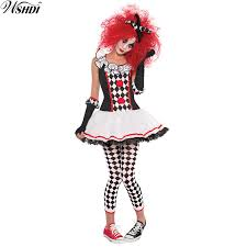Jester Halloween Costumes Women Popular Jester Halloween Costume Women Buy Cheap Jester Halloween