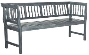 Safavieh Home Furnishing Pat6732b Garden Benches Outdoor Home Furnishings Furniture By