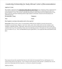 recommendation letter for an organization