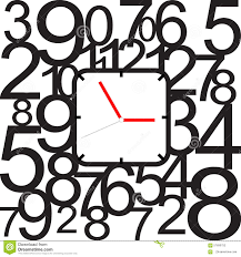 creative clock face design stock vector image 57690752