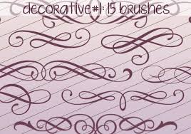 decorative brushes 1 free photoshop brushes at brusheezy