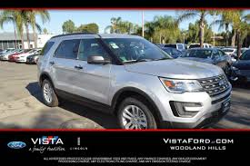 Ford Explorer Ecoboost - ford explorer in oxnard ca vista ford lincoln of oxnard