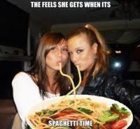 Duck Face Meme - add a plate of spaghetti to fix duck face meme generator