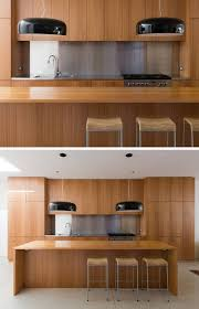 kitchen design idea install a stainless steel backsplash for a
