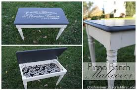 Piano Bench Pad Piano Bench Makeover Confessions Of A Serial Do It Yourselfer