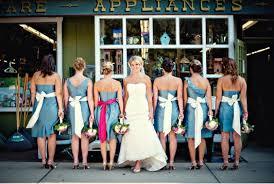 bridesmaid is