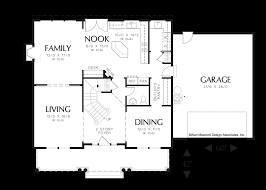 mascord house plan 2261h craftsman formal dining rooms and pantry