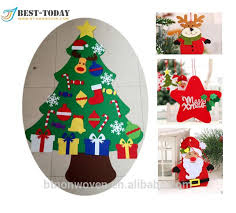 3 6 large felt tree set with ornaments buy
