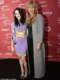 courtney love and daughter frances bean seen together for first