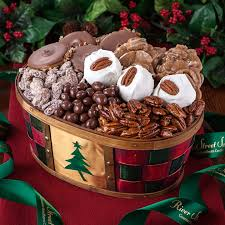 Candy Gift Basket Holiday Cheer Gift Basket Holiday Candy Gift Baskets River