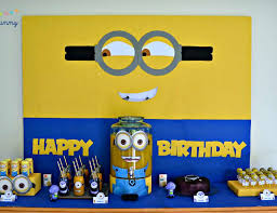 Minions Candy Buffet by The Minions Birthday