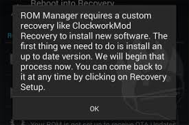 cwm apk flash install clockworkmod recovery on android phone tablet cwm