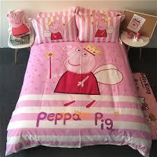 Peppa Pig Duvet Cover 100 Cotton Peppa Pig Single King Single Size Bed Quilt Doona Duvet Cover Set