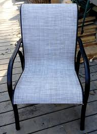 North Carolina Patio Furniture Tropitone Furniture Sling Replacement Using Chinchilla Fabric