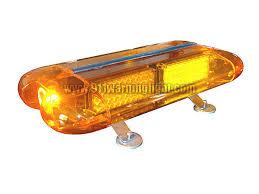 amber mini light bar tbd ga e432 led mini lightbar amber color magnetic bracket