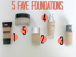 elle sees beauty blogger in atlanta my 5 fave foundations