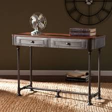 Industrial Console Table Kennendale Industrial Console Table Walmart