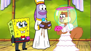 spongebob and sandy married youtube