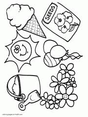 coloring pages to print spring spring coloring pages