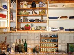 Kitchen Without Cabinet Doors Open Kitchen Cabinets Kitchen Pantry With Open Shelving View