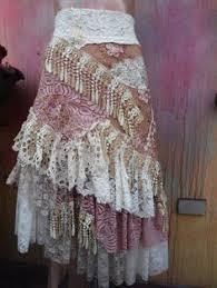 Shabby Chic Skirts by Red Apron Women U0027s Apron Handmade Apron Red Cream Ticking Shabby