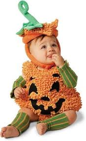 Baby Costumes Halloween 0 3 Months Pumpkin Baby Costume Bunting Gown 0 3 Months 12 Pounds