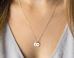 children s initial necklace for pretentious design mothers necklace with names kids 4 rings