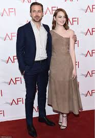 ryan gosling emma stone couple film emma stone and ryan gosling join michelle williams at this year s