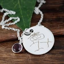 custom handwriting necklace custom handwriting jewelry handwritten necklace actual