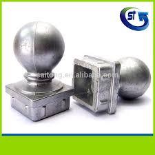 50x50 65x65 decorative square base aluminum fence post caps buy