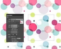 illustrator pattern polka dots creating patterns in illustrator cs6 veerle s blog 3 0