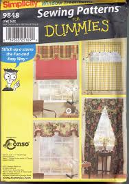 drapes sewing pattern valance jabbot u0026 cafe curtains patterns
