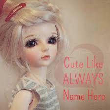 print text beautiful barbie doll