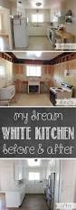 Kitchen Remodel Before And After With Cost My Dream White Kitchen U2013 Glorious Treats